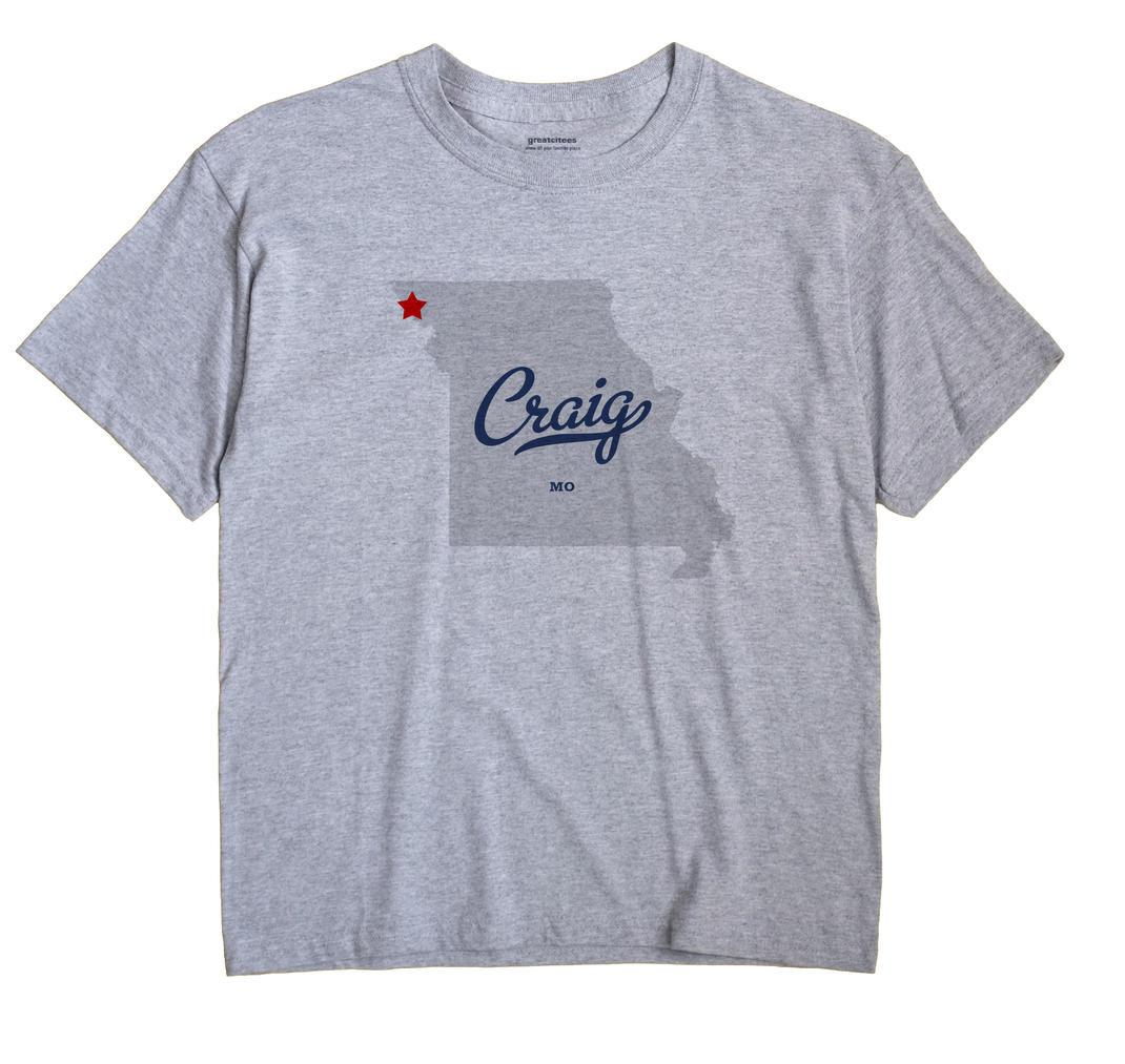 Craig, Missouri MO Souvenir Shirt