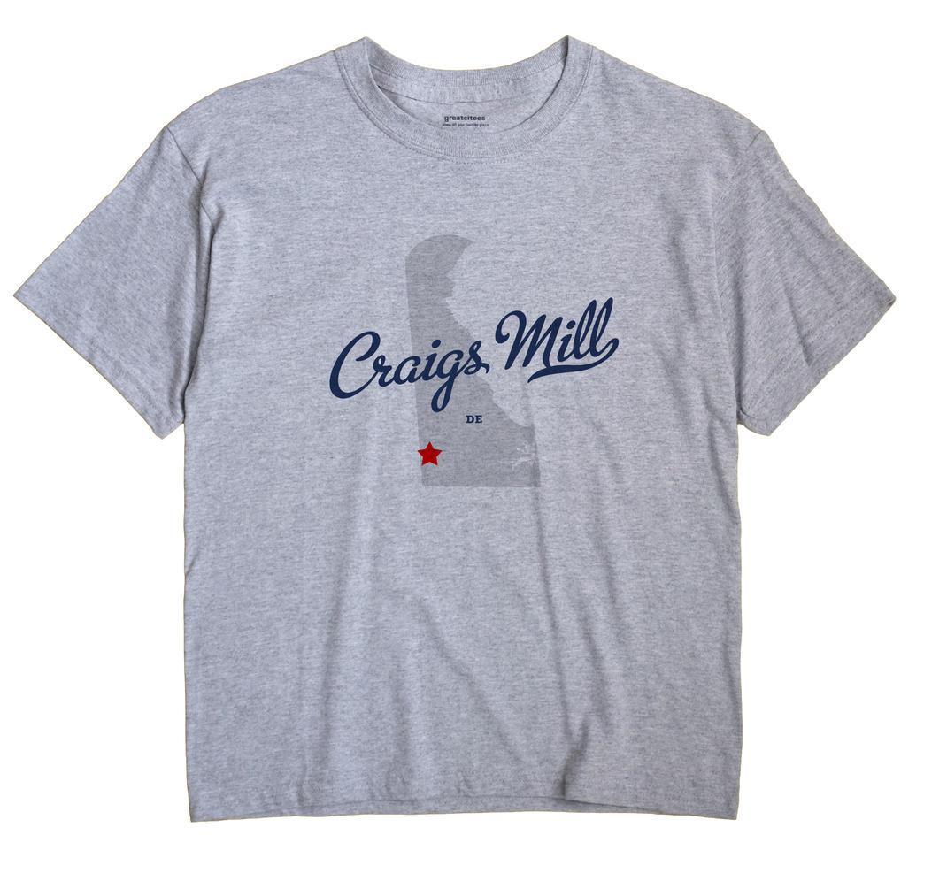 Craigs Mill, Delaware DE Souvenir Shirt
