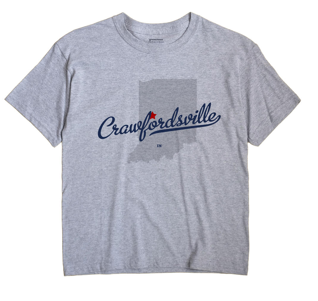 Crawfordsville, Indiana IN Souvenir Shirt