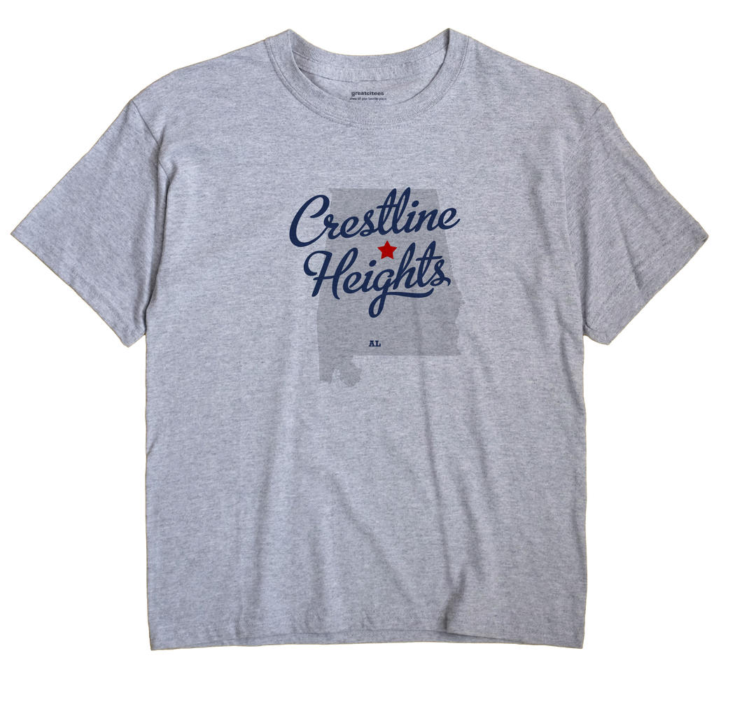 Crestline Heights, Alabama AL Souvenir Shirt