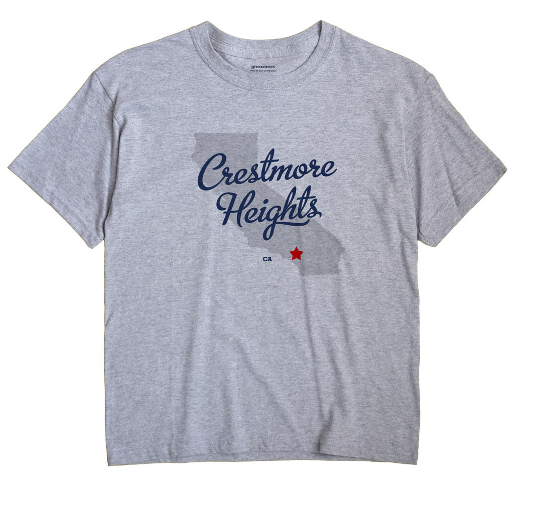 Crestmore Heights, California CA Souvenir Shirt