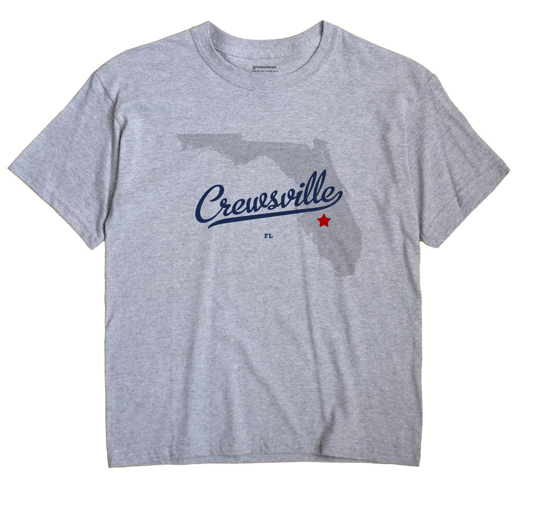 Crewsville, Florida FL Souvenir Shirt