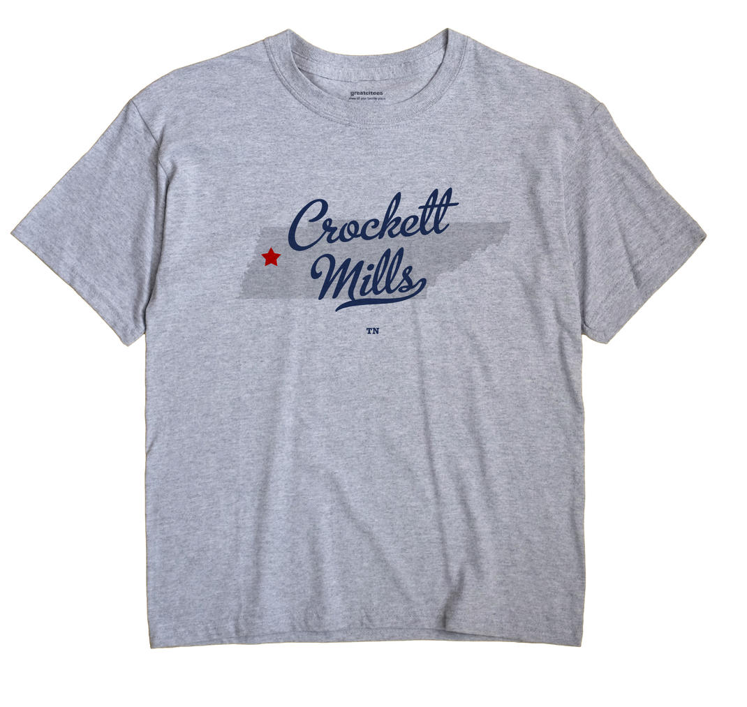Crockett Mills, Tennessee TN Souvenir Shirt