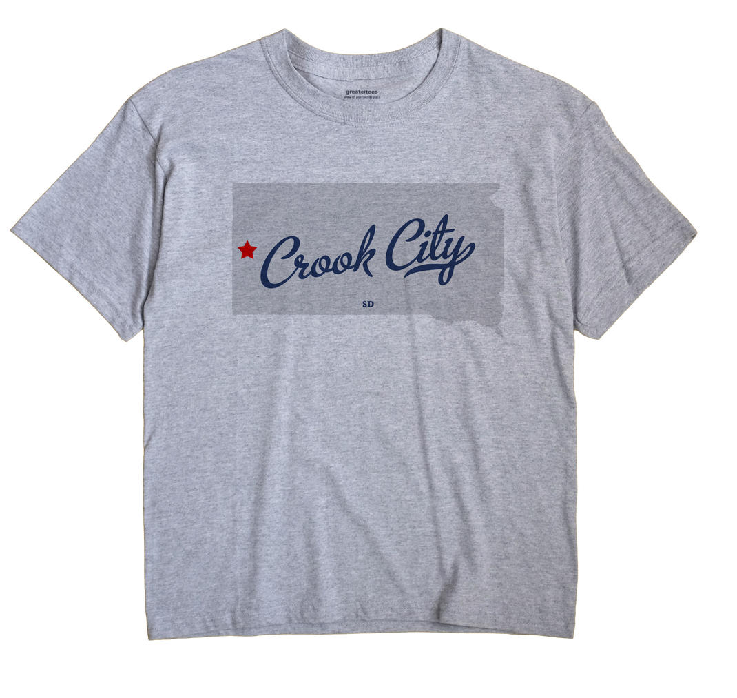 Crook City, South Dakota SD Souvenir Shirt