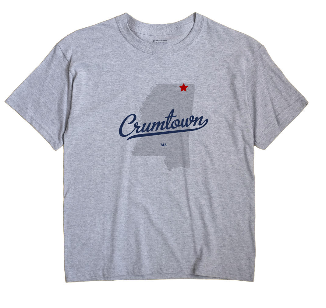 Crumtown, Mississippi MS Souvenir Shirt