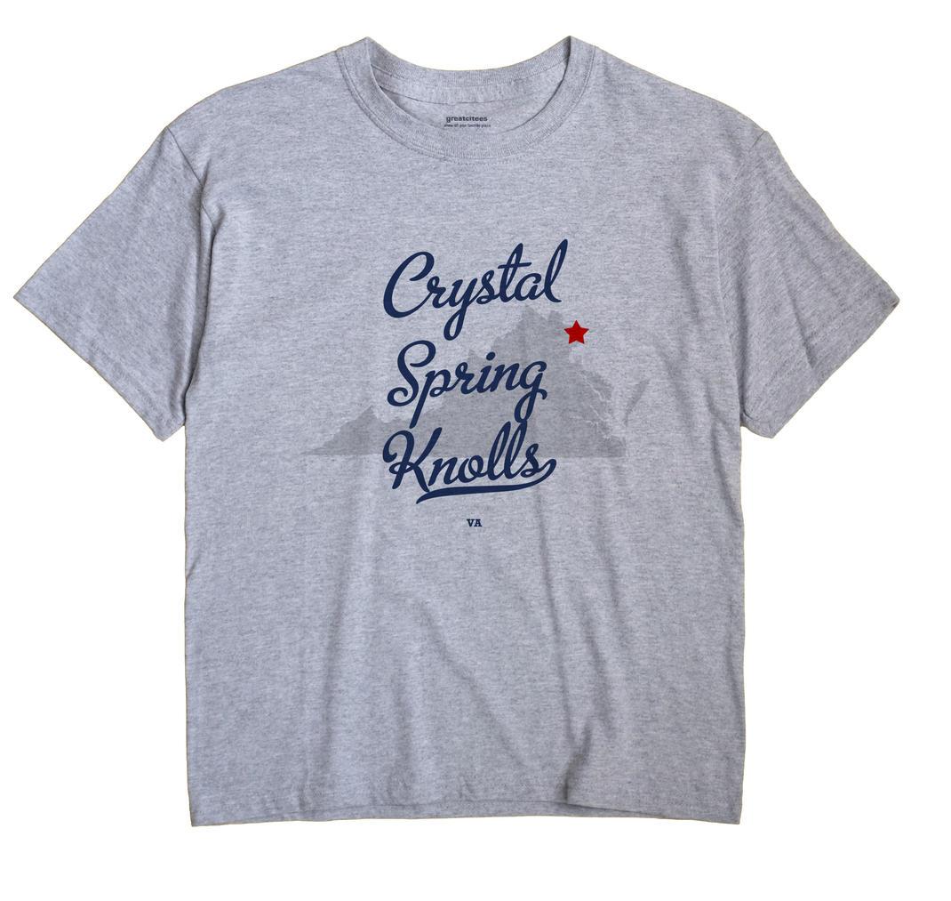 Crystal Spring Knolls, Virginia VA Souvenir Shirt