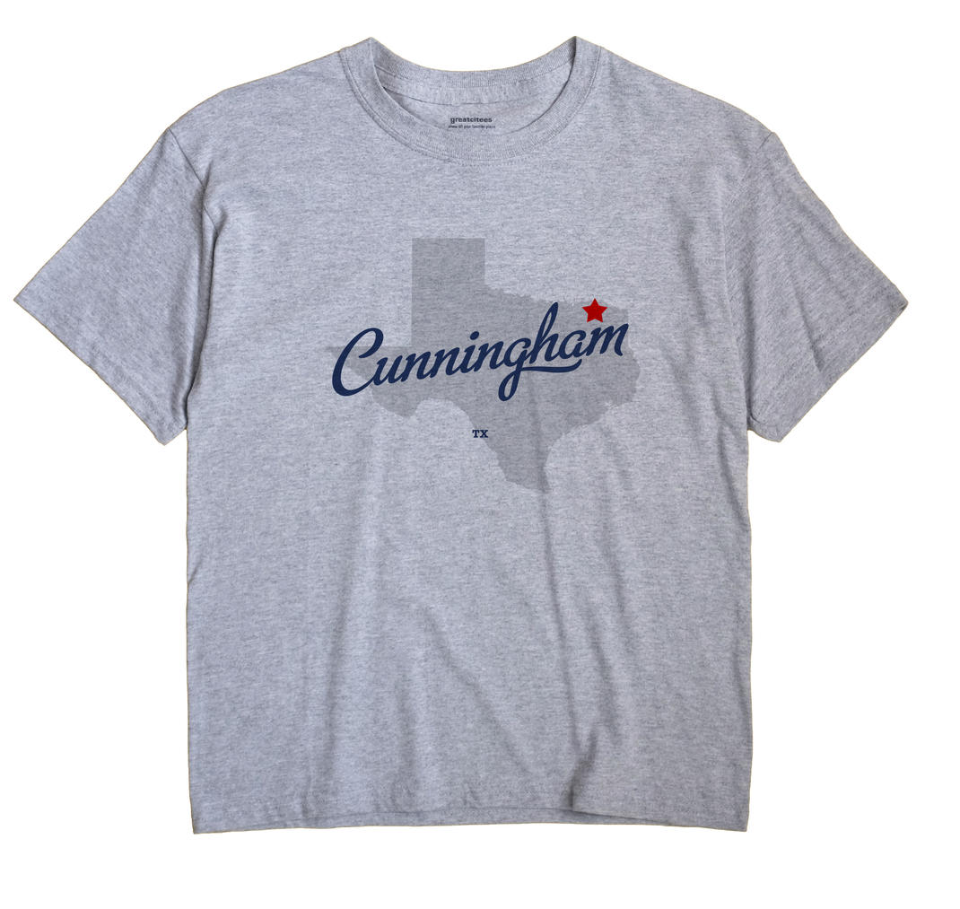 Cunningham, Texas TX Souvenir Shirt