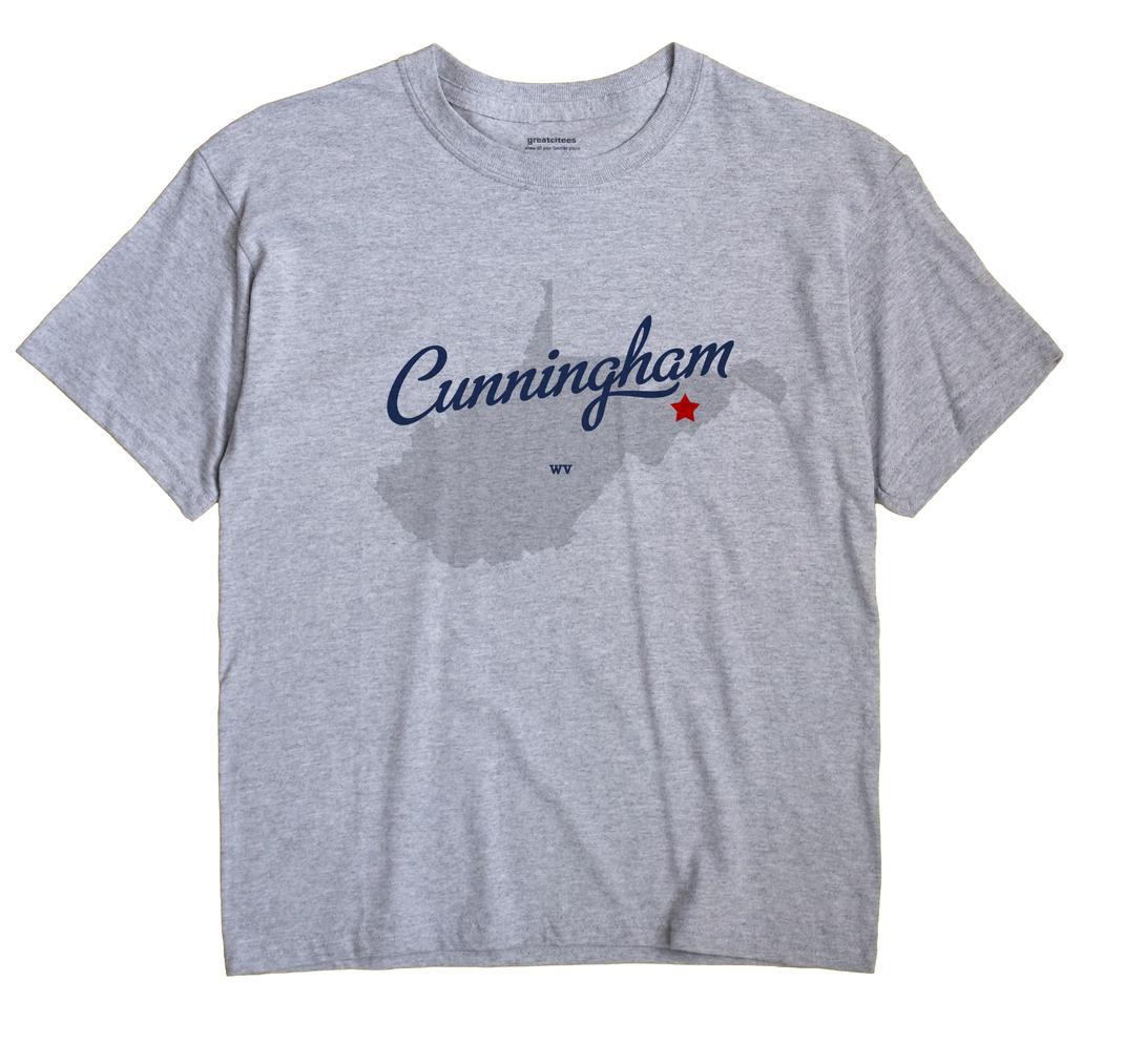 Cunningham, West Virginia WV Souvenir Shirt