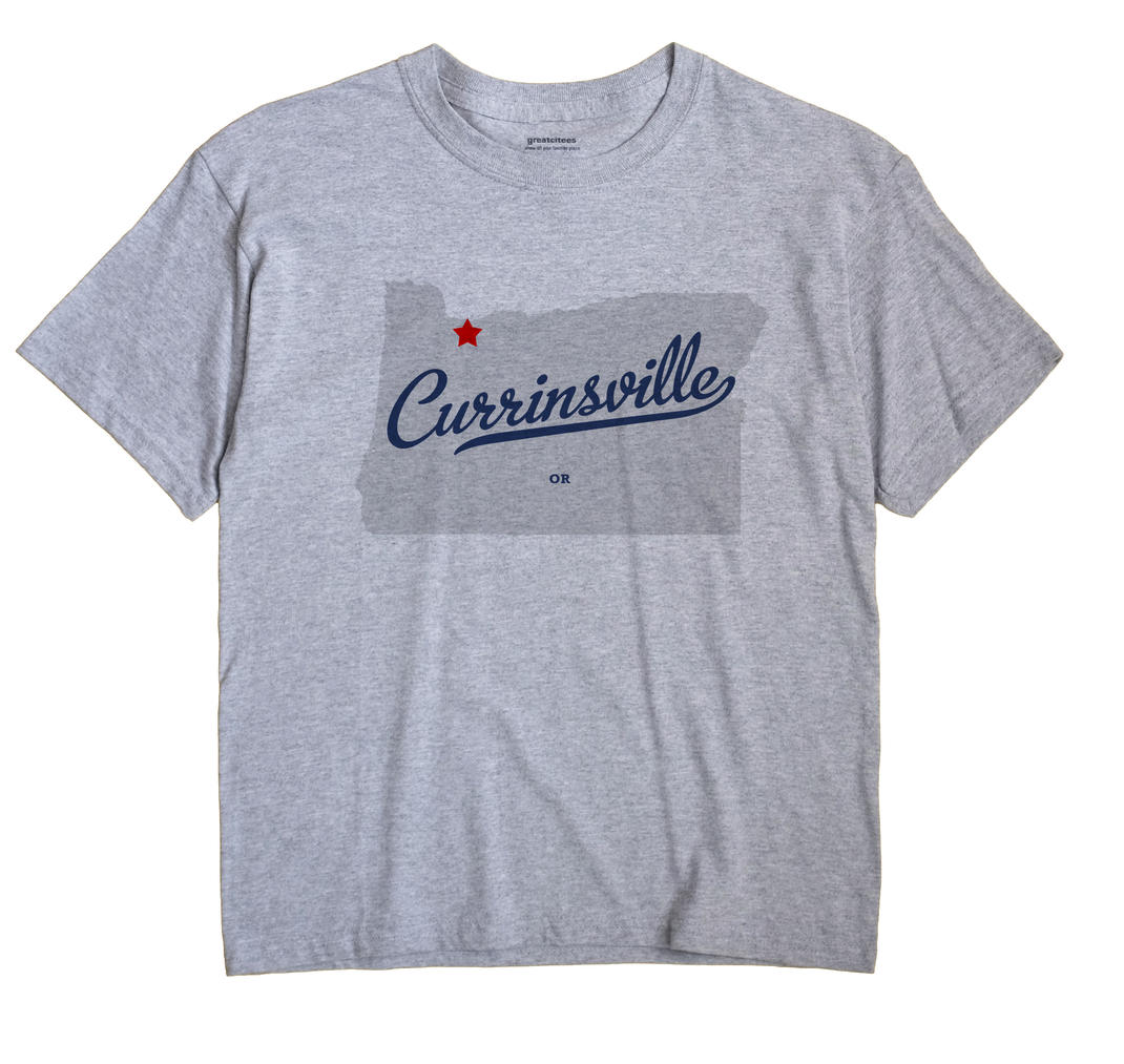 Currinsville, Oregon OR Souvenir Shirt