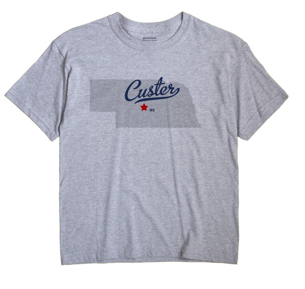 Custer, Custer County, Nebraska NE Souvenir Shirt