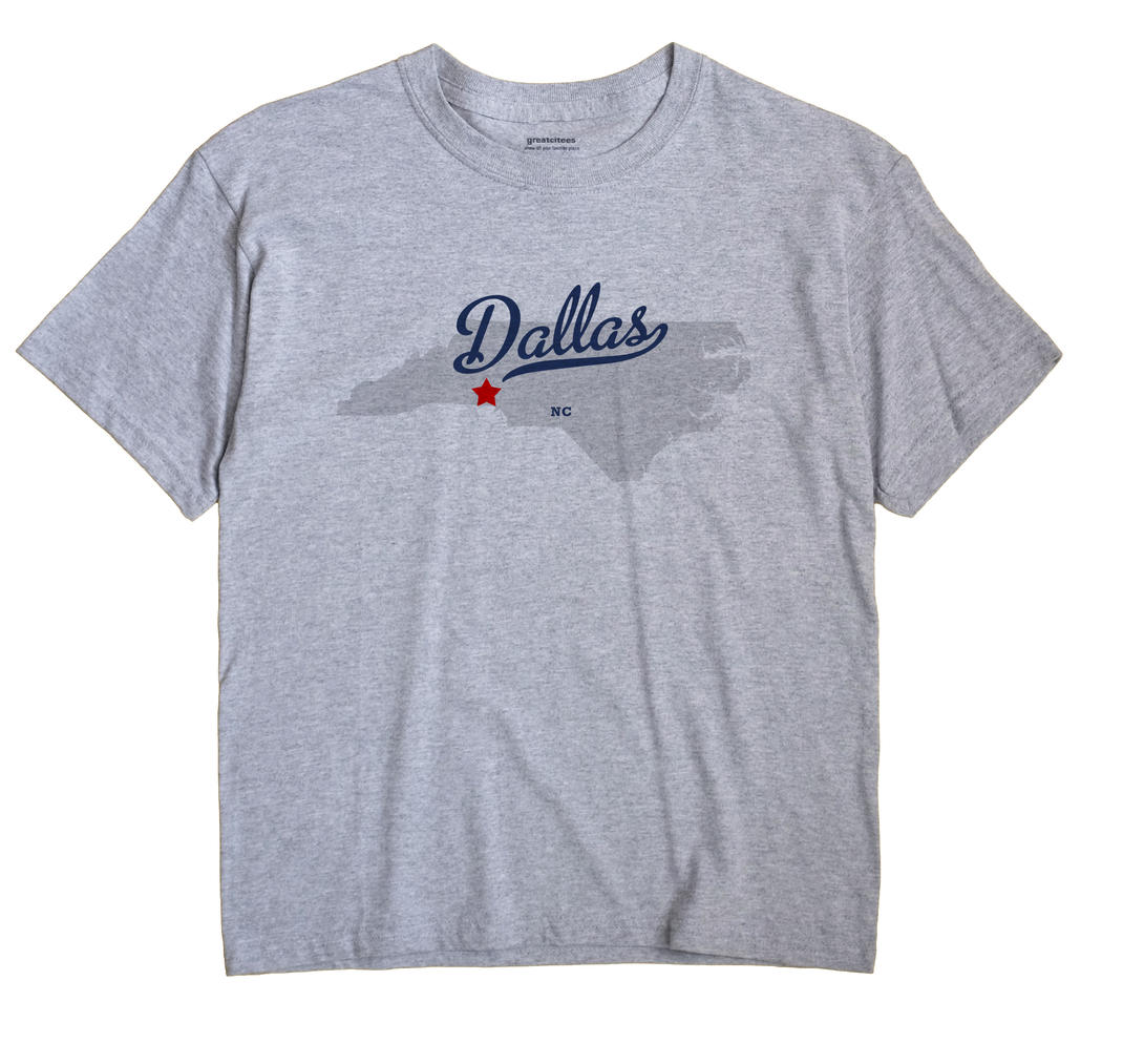 Dallas, North Carolina NC Souvenir Shirt