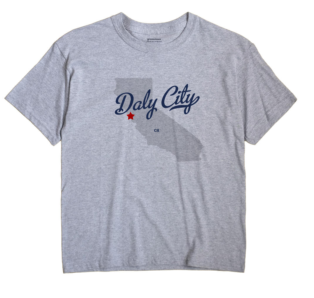 Daly City, California CA Souvenir Shirt