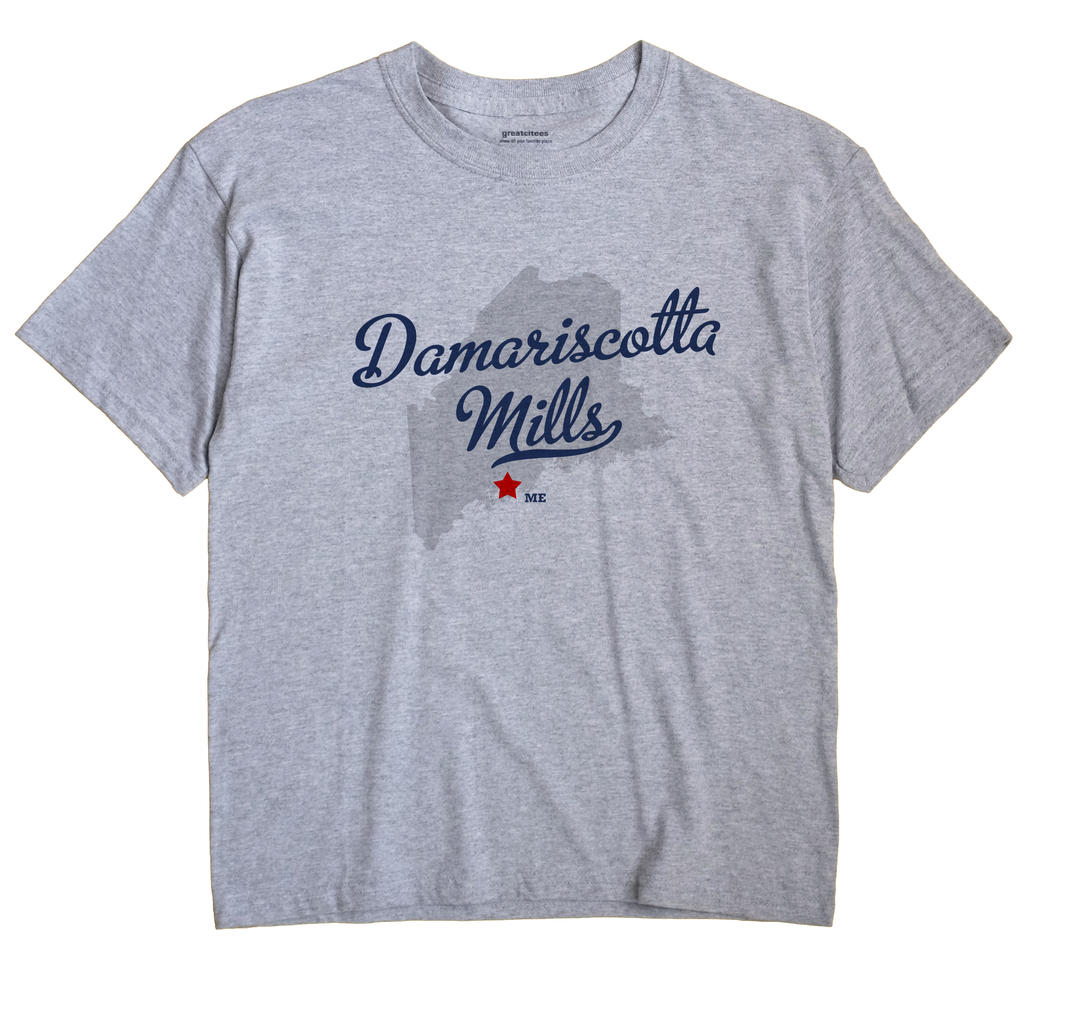 Damariscotta Mills, Maine ME Souvenir Shirt
