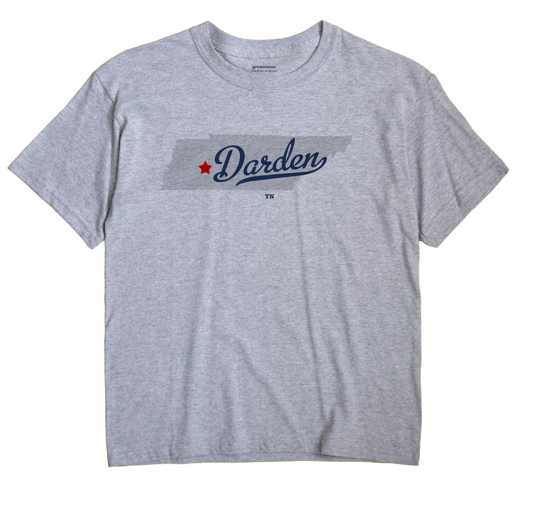 Darden, Tennessee TN Souvenir Shirt