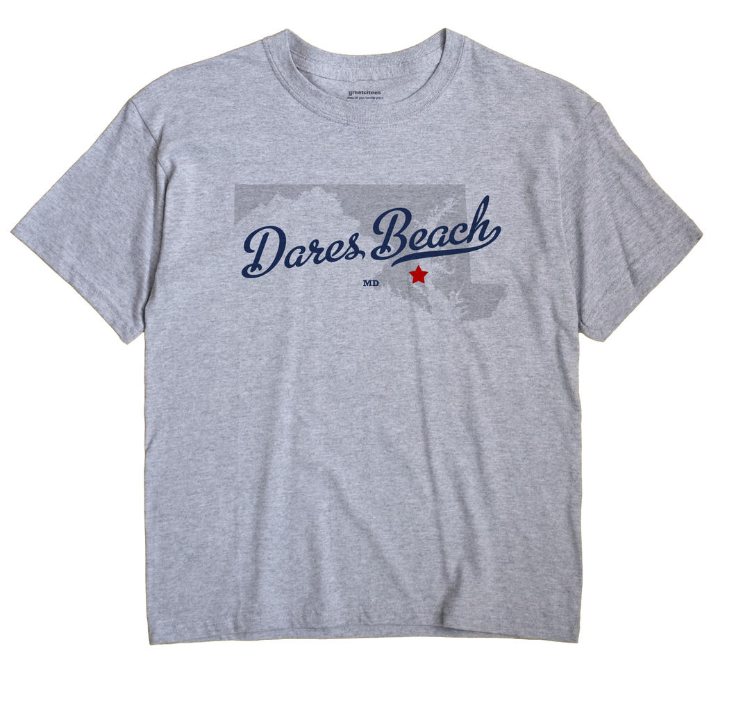 Dares Beach, Maryland MD Souvenir Shirt