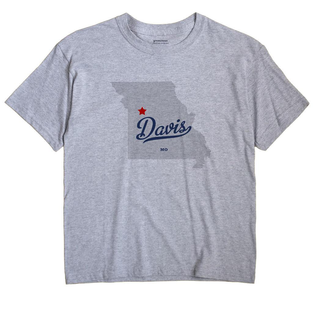 Davis, Lafayette County, Missouri MO Souvenir Shirt
