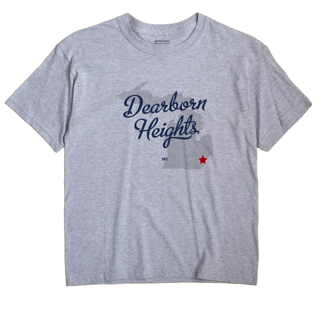 Dearborn Heights, Michigan MI Souvenir Shirt