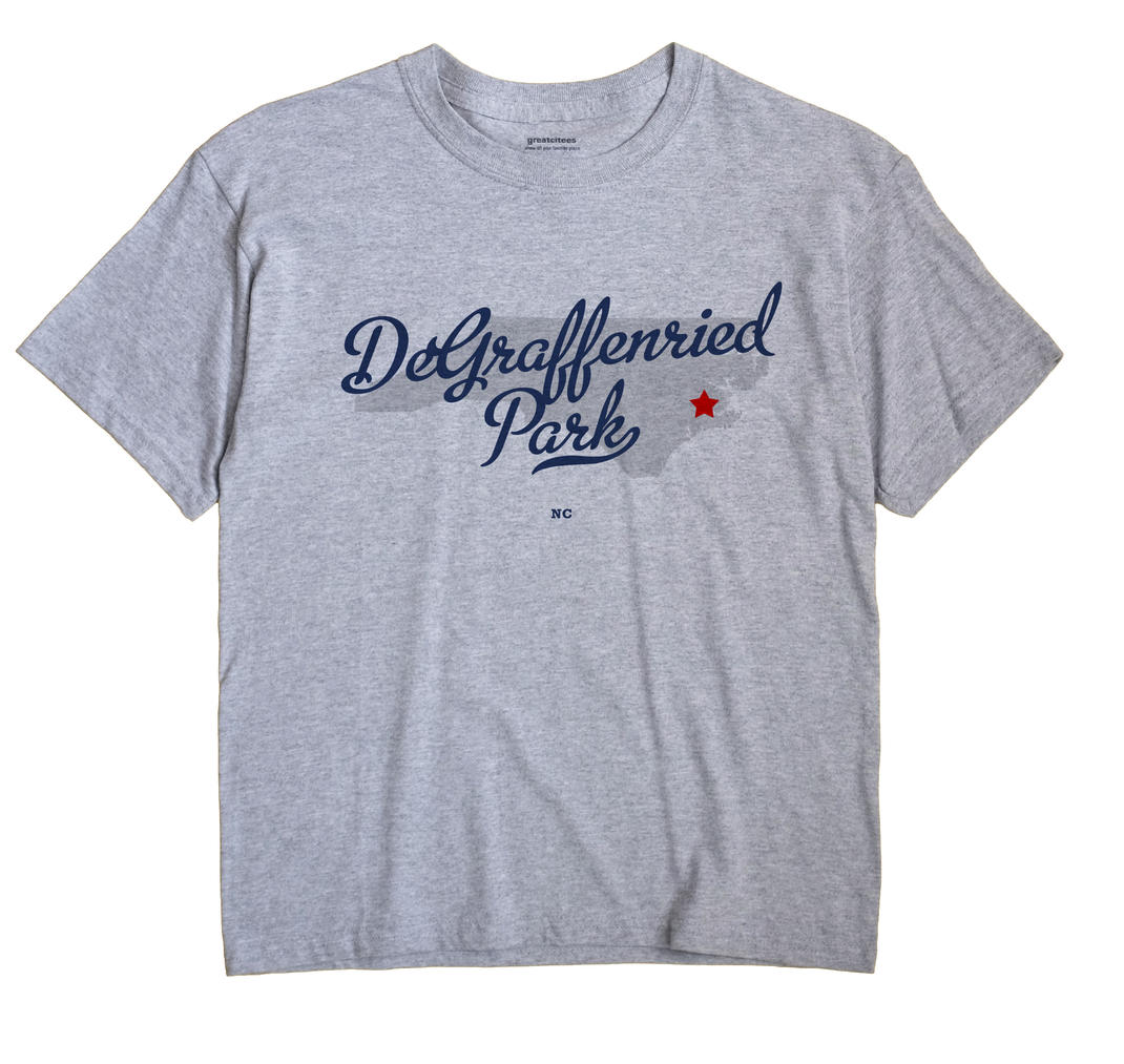 DeGraffenried Park, North Carolina NC Souvenir Shirt