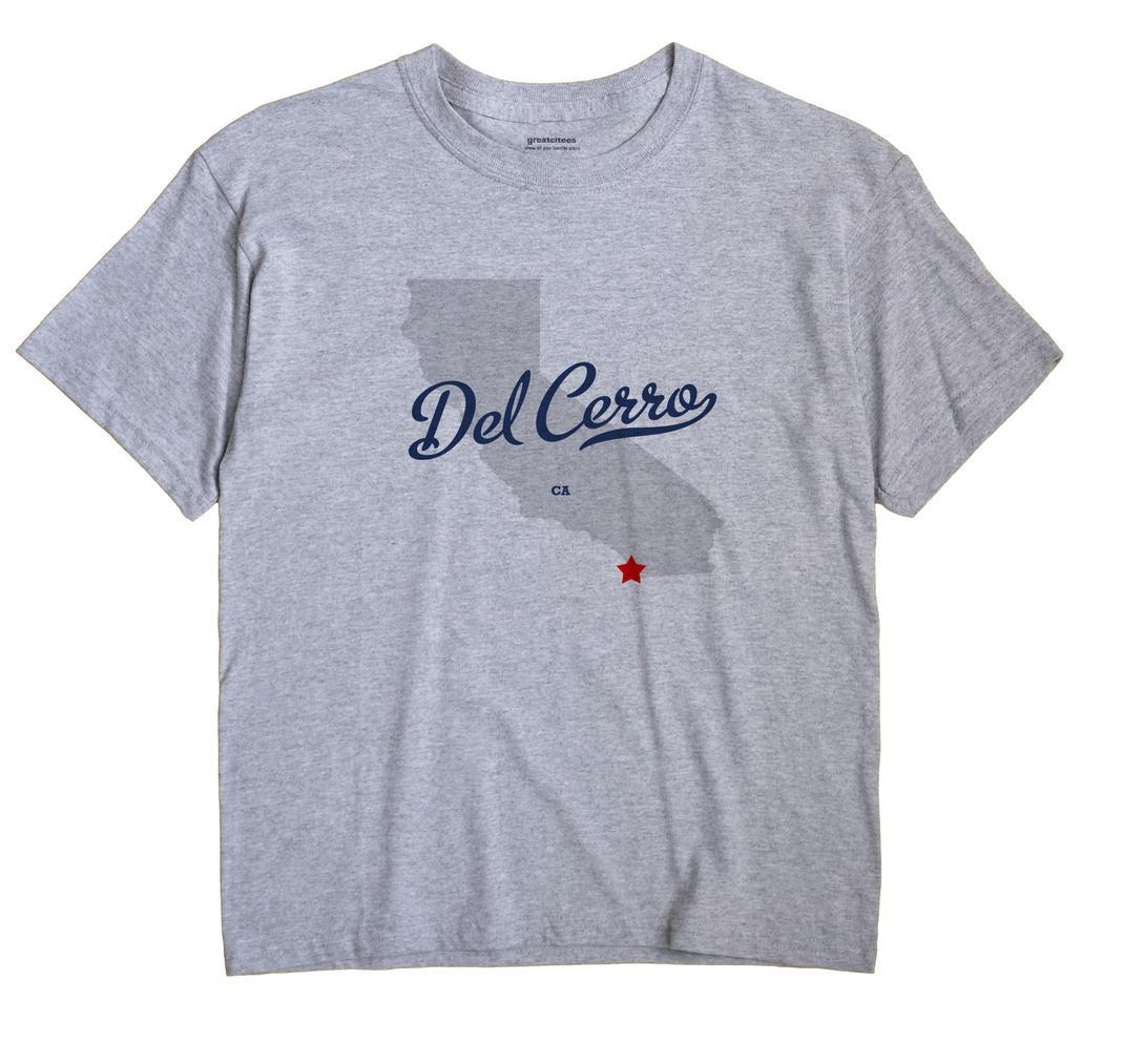 Del Cerro, California CA Souvenir Shirt
