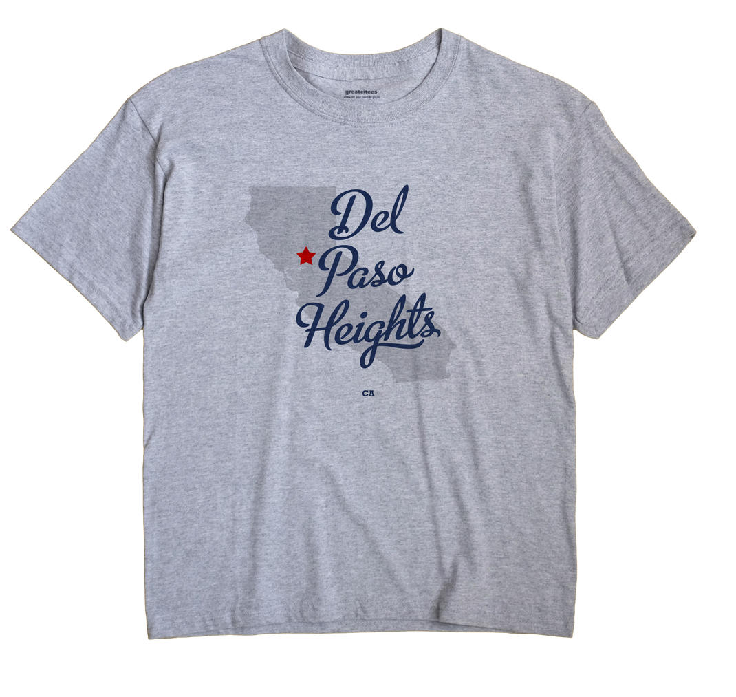 Del Paso Heights, California CA Souvenir Shirt