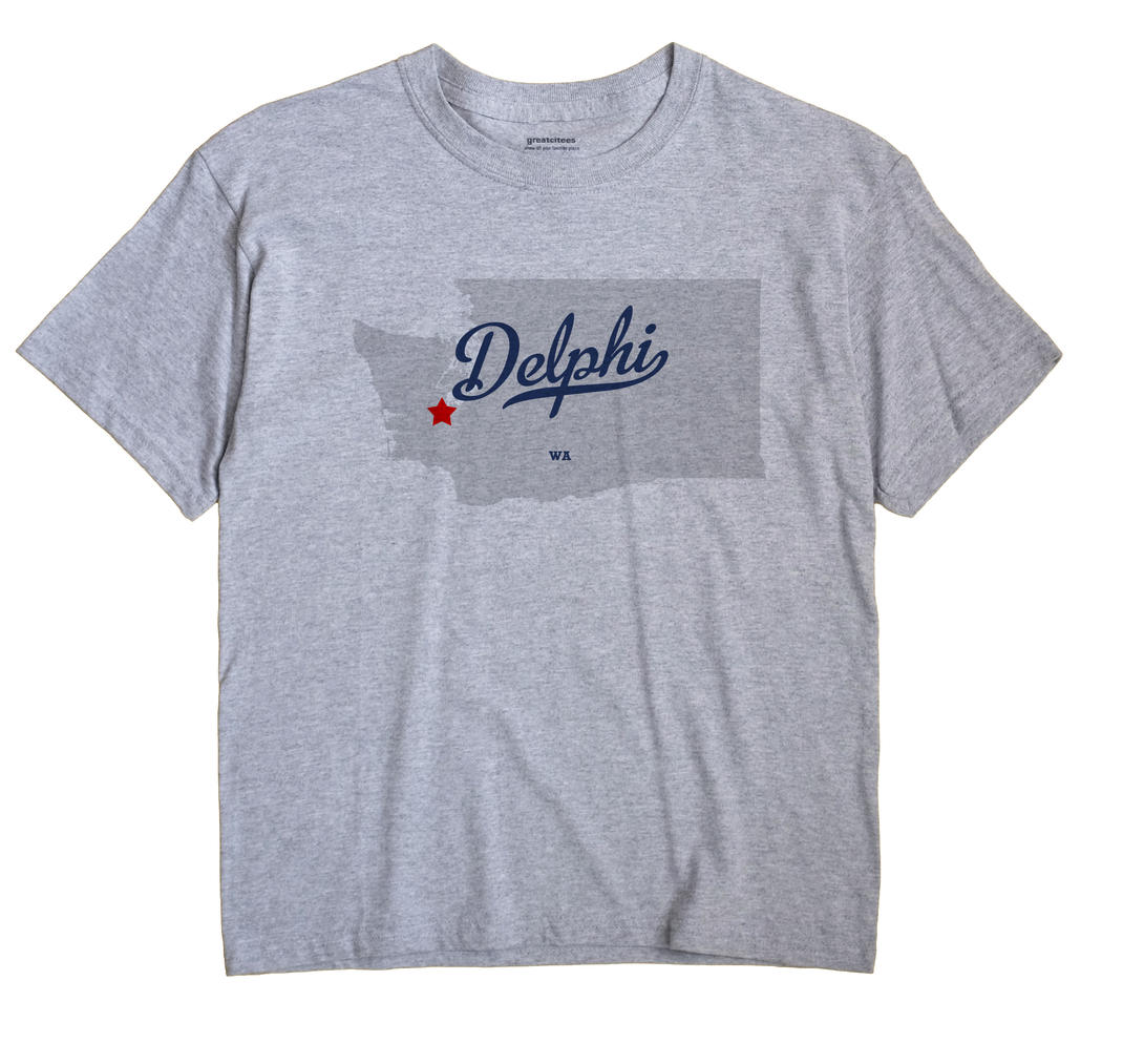 Delphi, Washington WA Souvenir Shirt