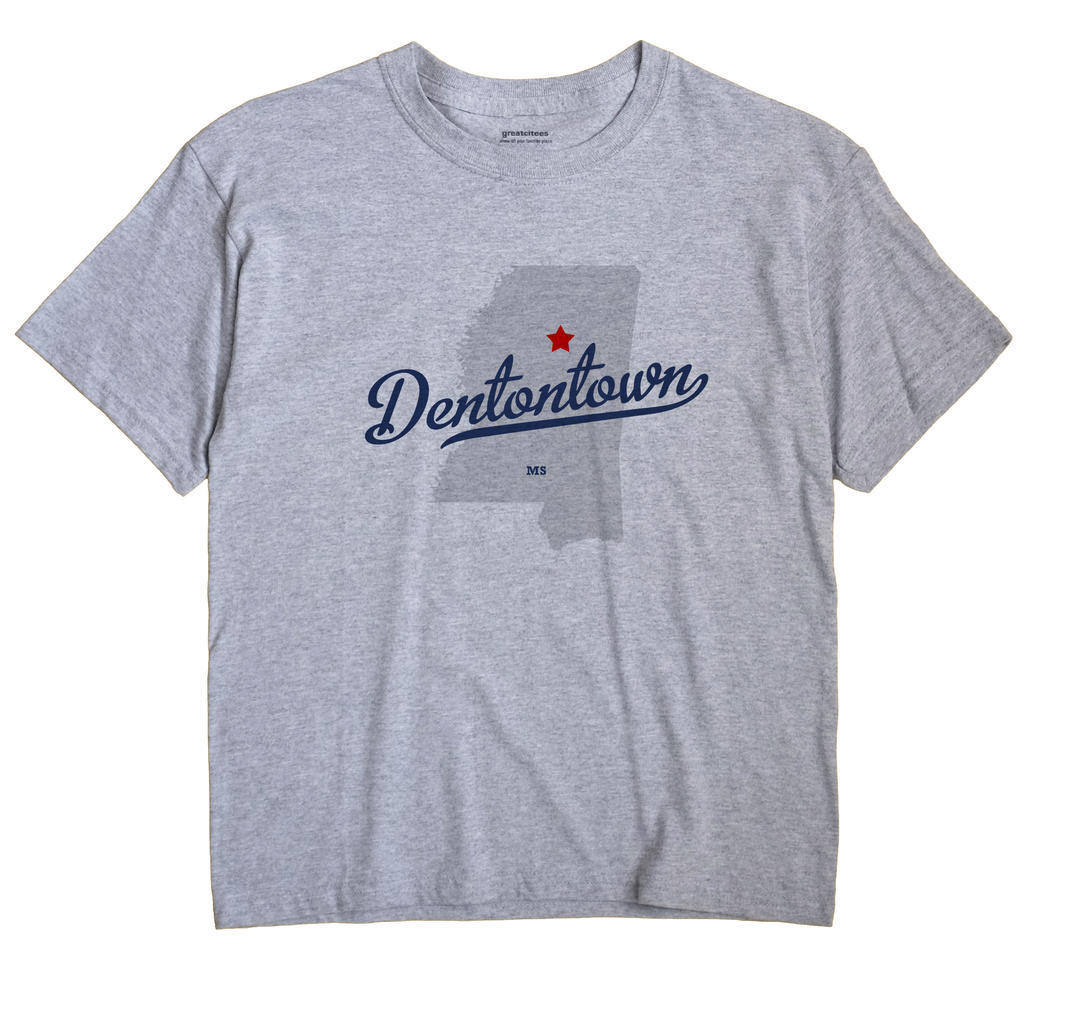 Dentontown, Mississippi MS Souvenir Shirt