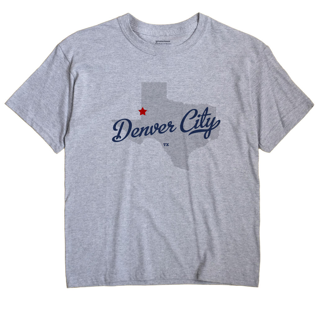 Denver City, Texas TX Souvenir Shirt