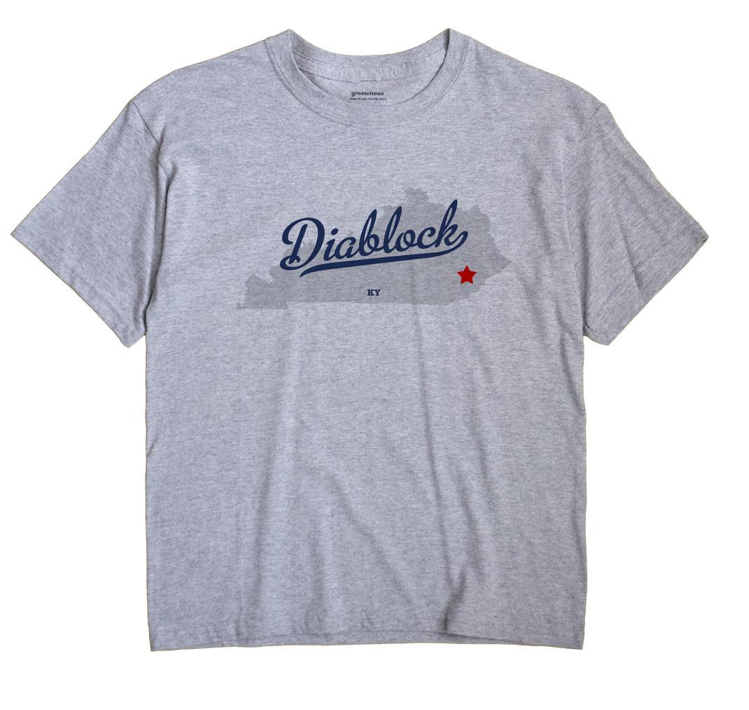 Diablock, Kentucky KY Souvenir Shirt