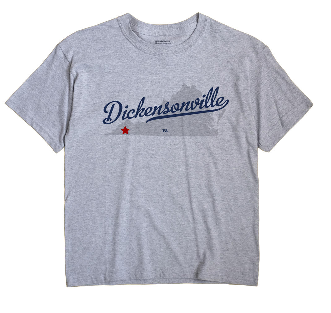 Dickensonville, Virginia VA Souvenir Shirt
