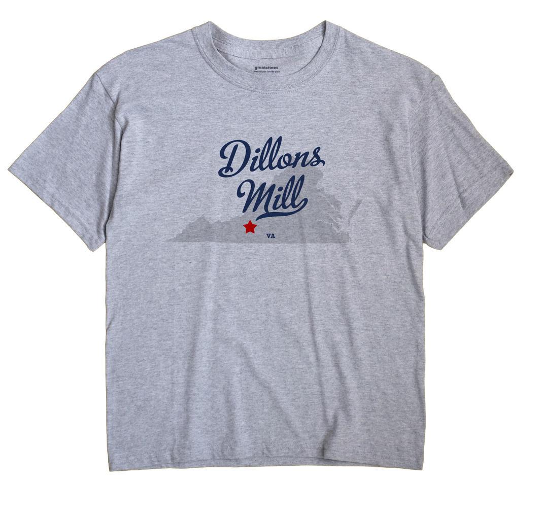 Dillons Mill, Virginia VA Souvenir Shirt