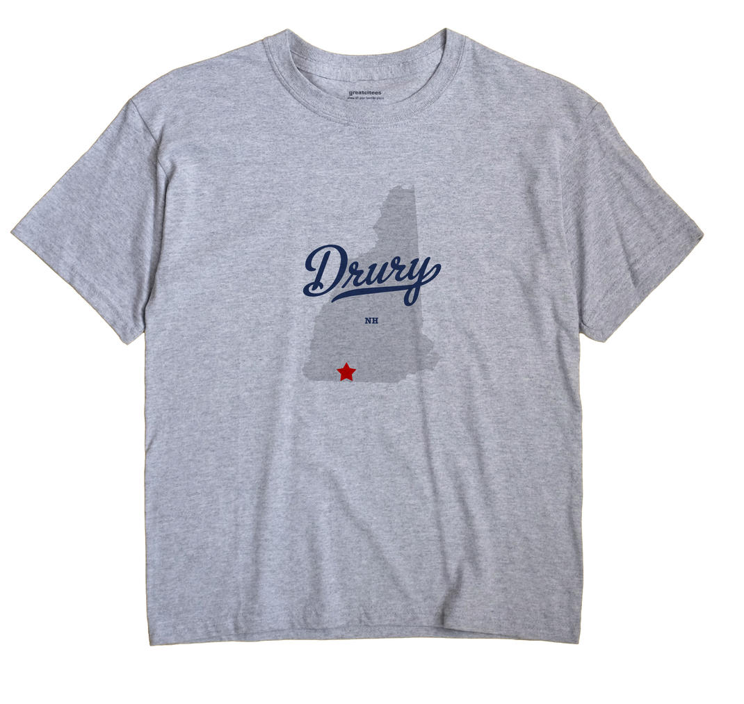 Drury, New Hampshire NH Souvenir Shirt