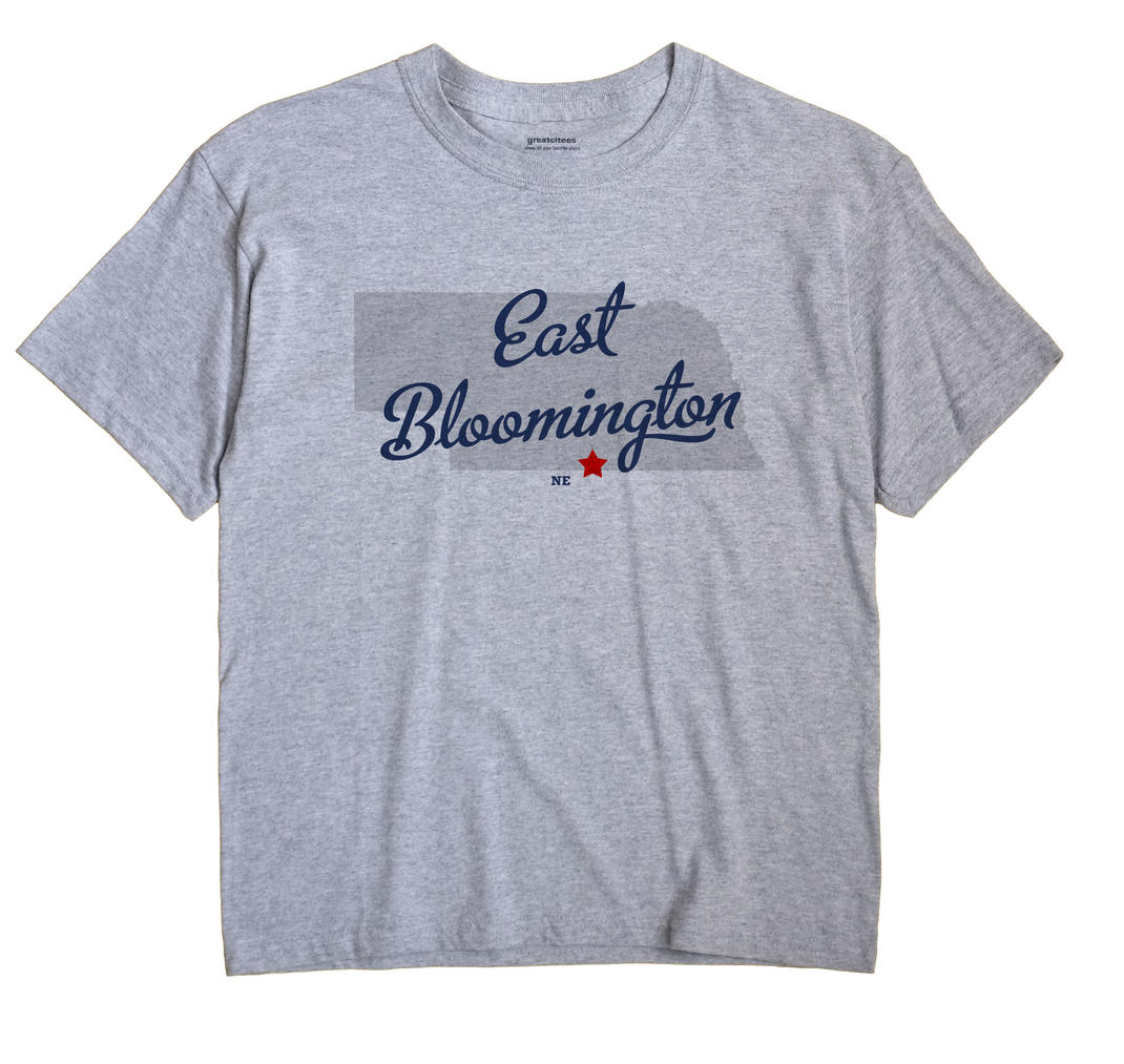 East Bloomington, Nebraska NE Souvenir Shirt