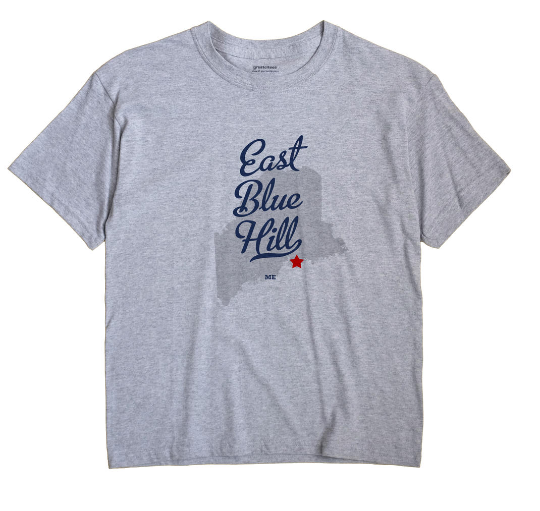 East Blue Hill, Maine ME Souvenir Shirt