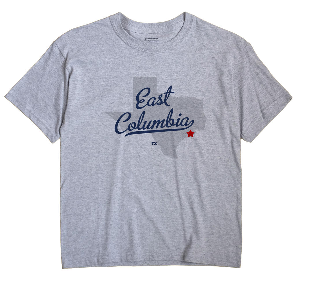East Columbia, Texas TX Souvenir Shirt