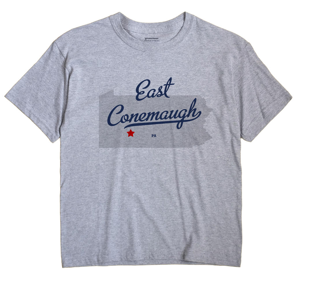 East Conemaugh, Pennsylvania PA Souvenir Shirt
