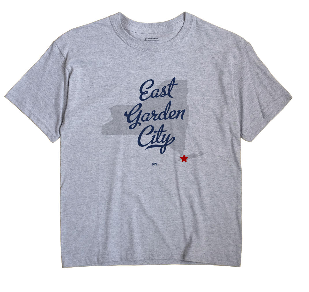 East Garden City, New York NY Souvenir Shirt