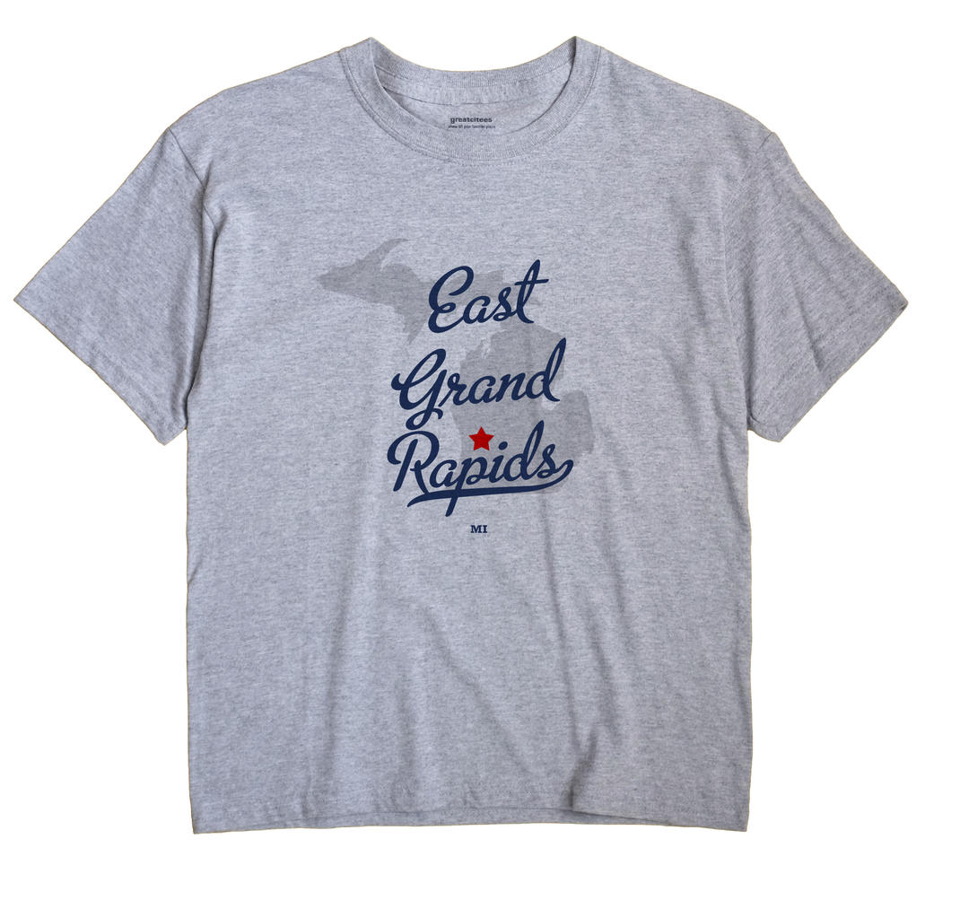 East Grand Rapids, Michigan MI Souvenir Shirt