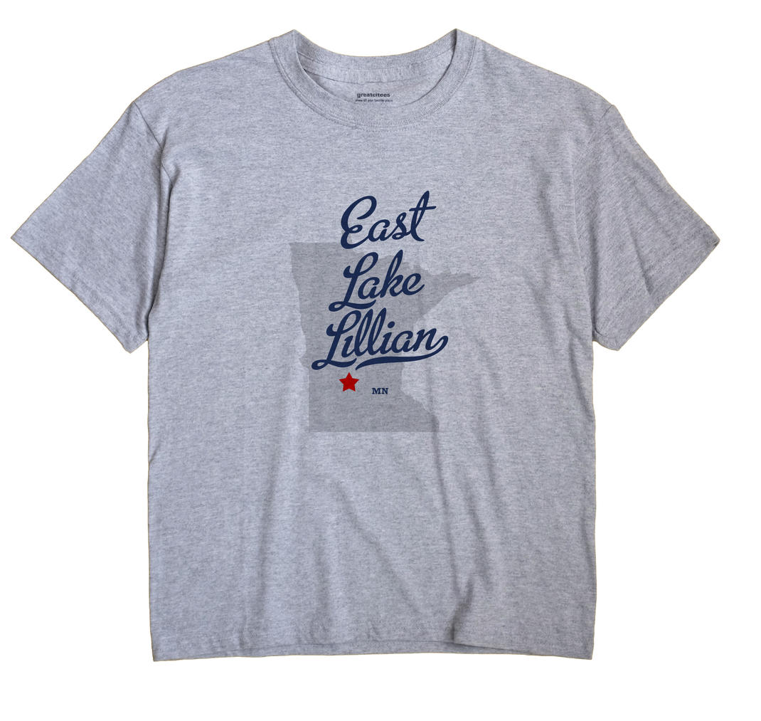 East Lake Lillian, Minnesota MN Souvenir Shirt