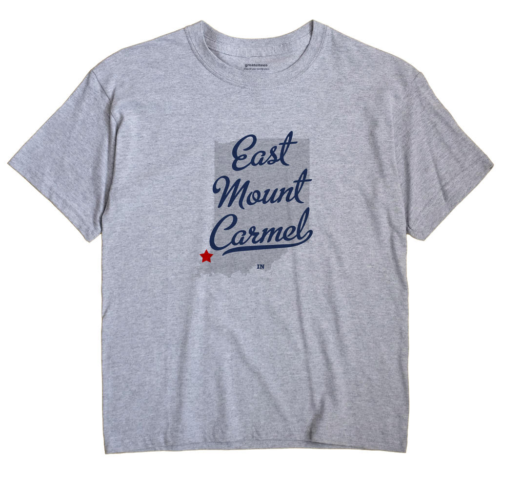 East Mount Carmel, Indiana IN Souvenir Shirt