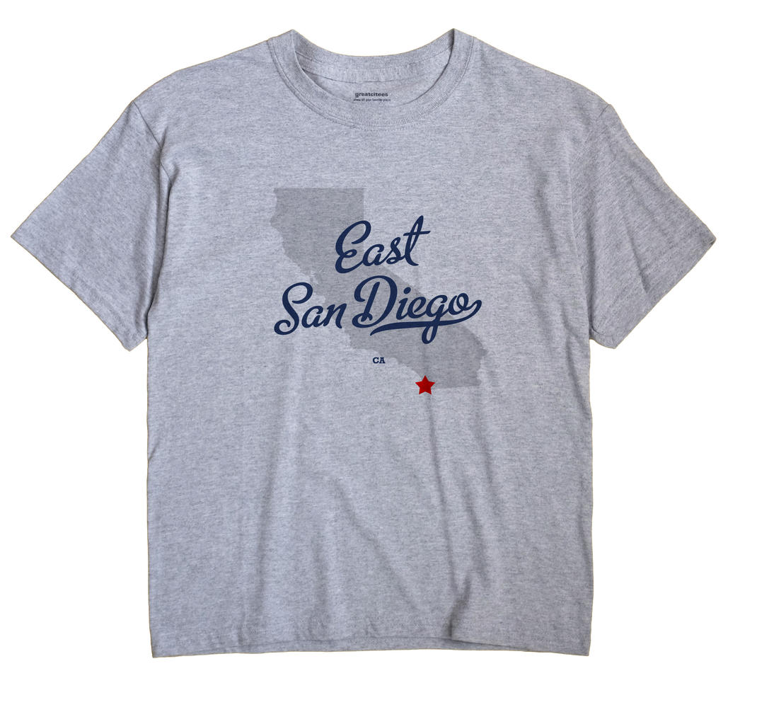 East San Diego, California CA Souvenir Shirt