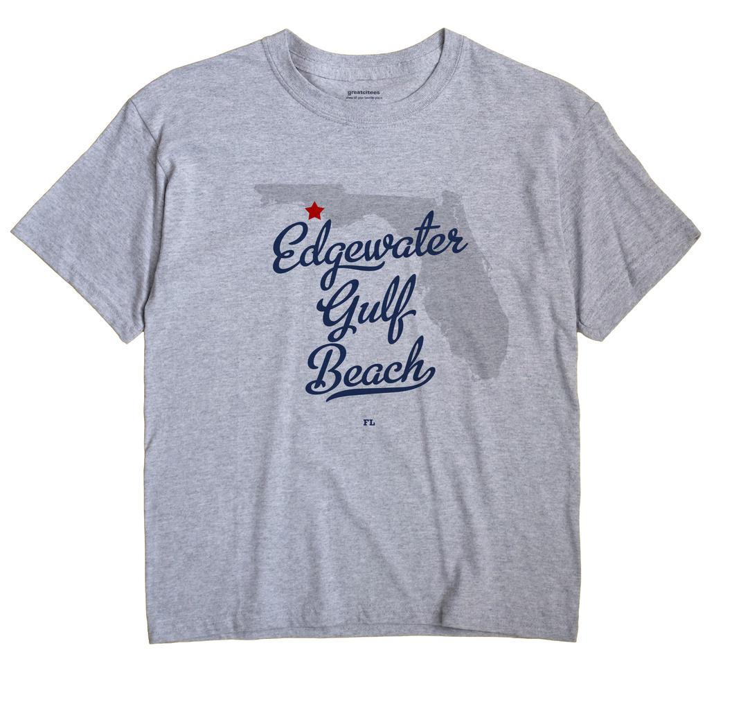 Edgewater Gulf Beach, Florida FL Souvenir Shirt