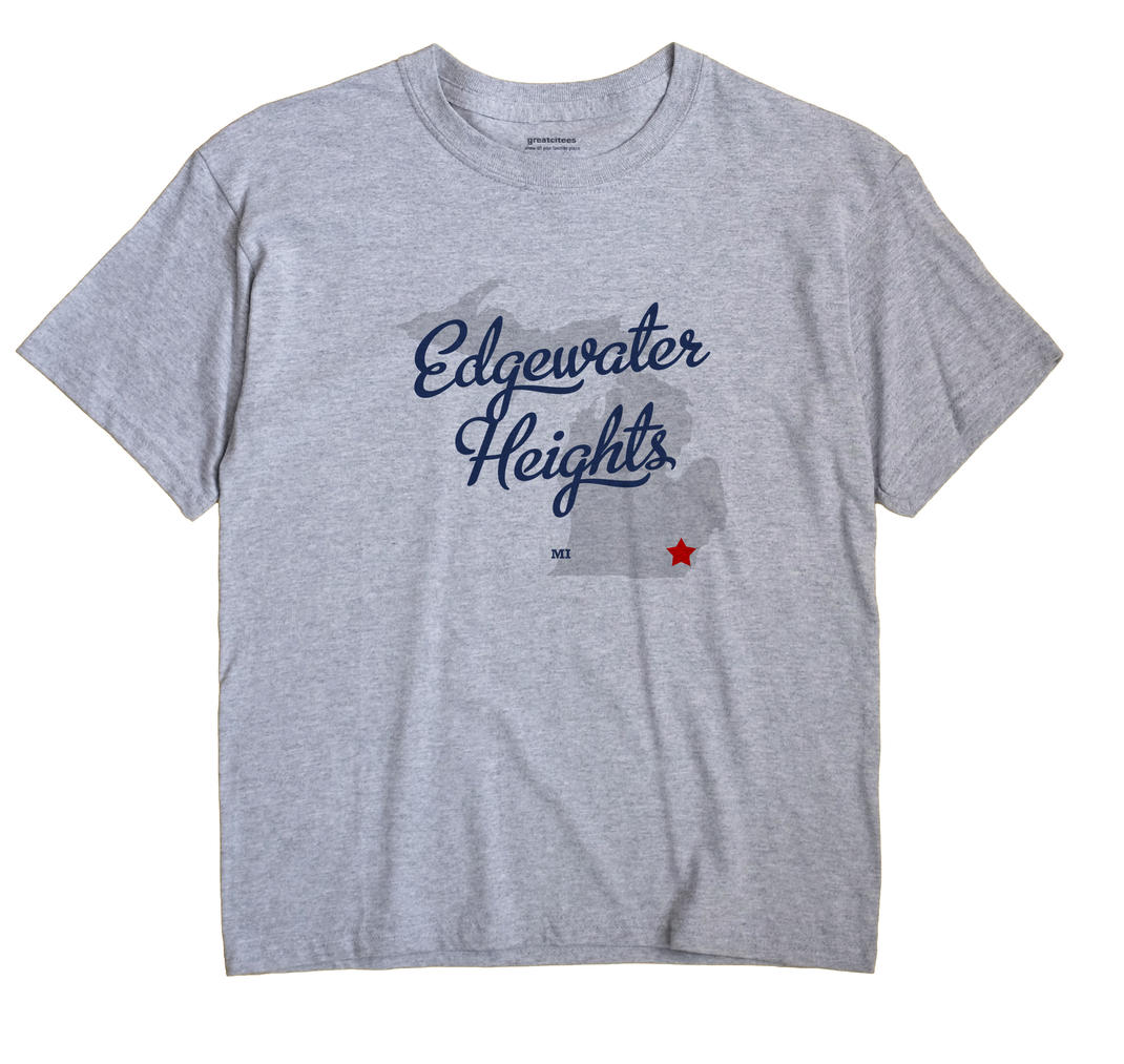 Edgewater Heights, Michigan MI Souvenir Shirt