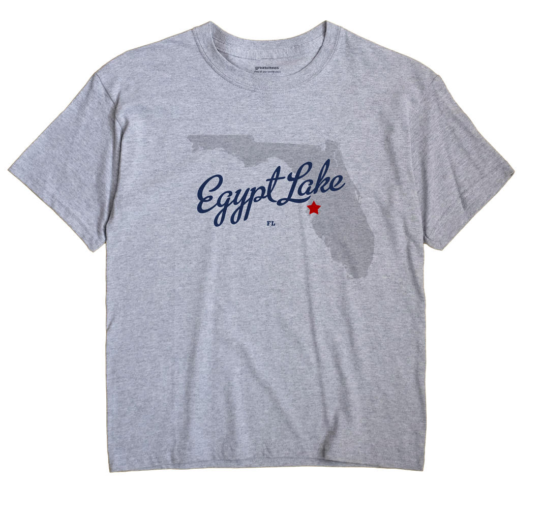 Egypt Lake, Florida FL Souvenir Shirt