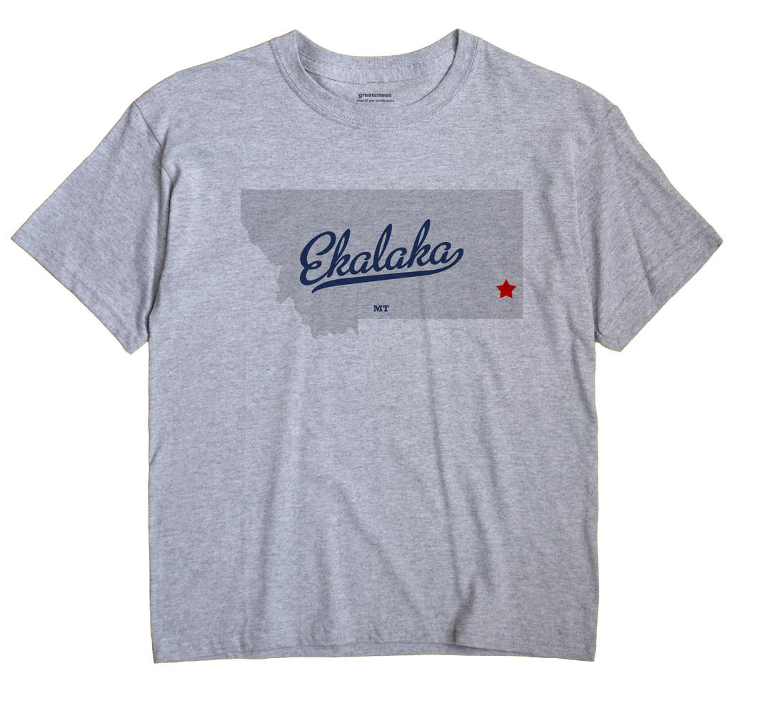Ekalaka, Montana MT Souvenir Shirt