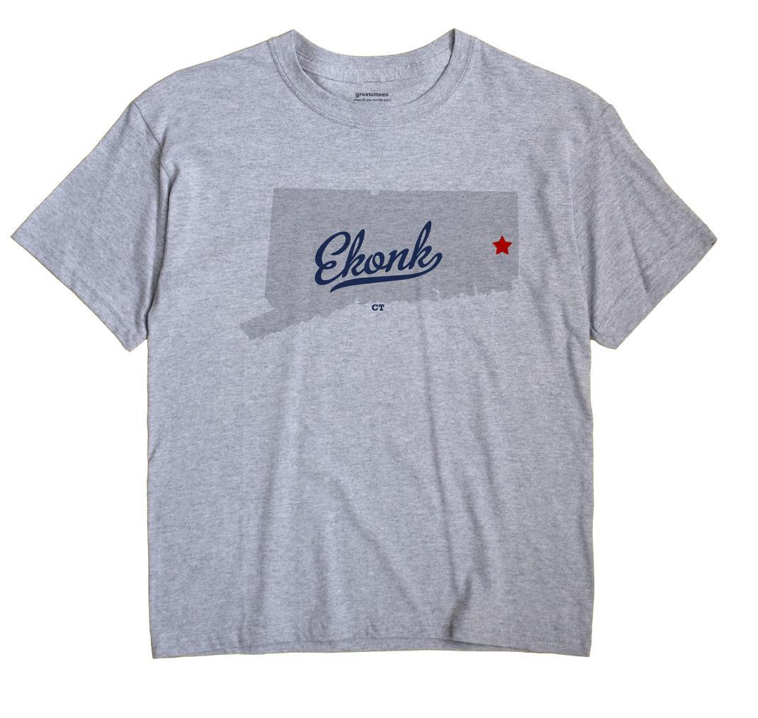 Ekonk, Connecticut CT Souvenir Shirt