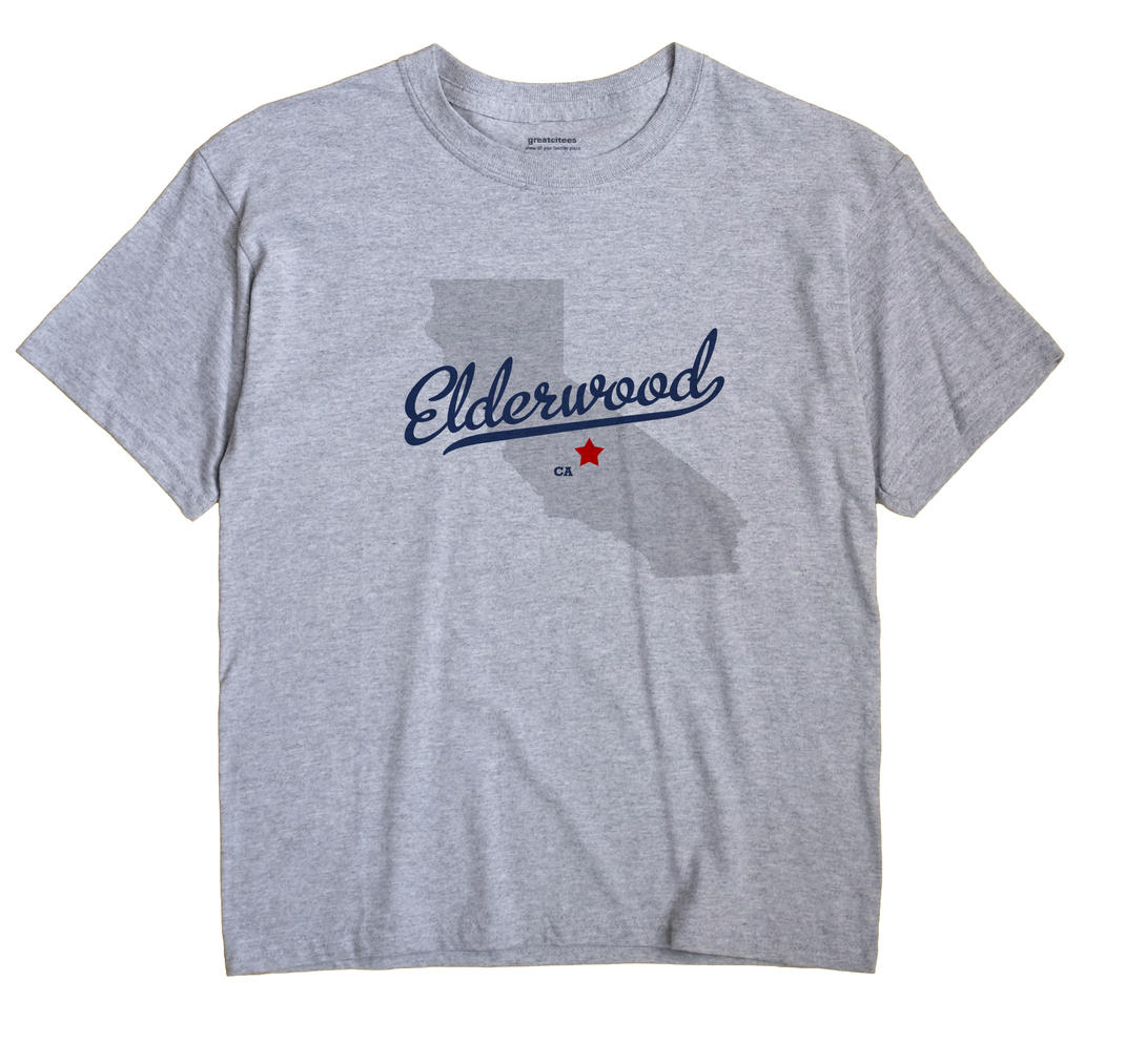 Elderwood, California CA Souvenir Shirt