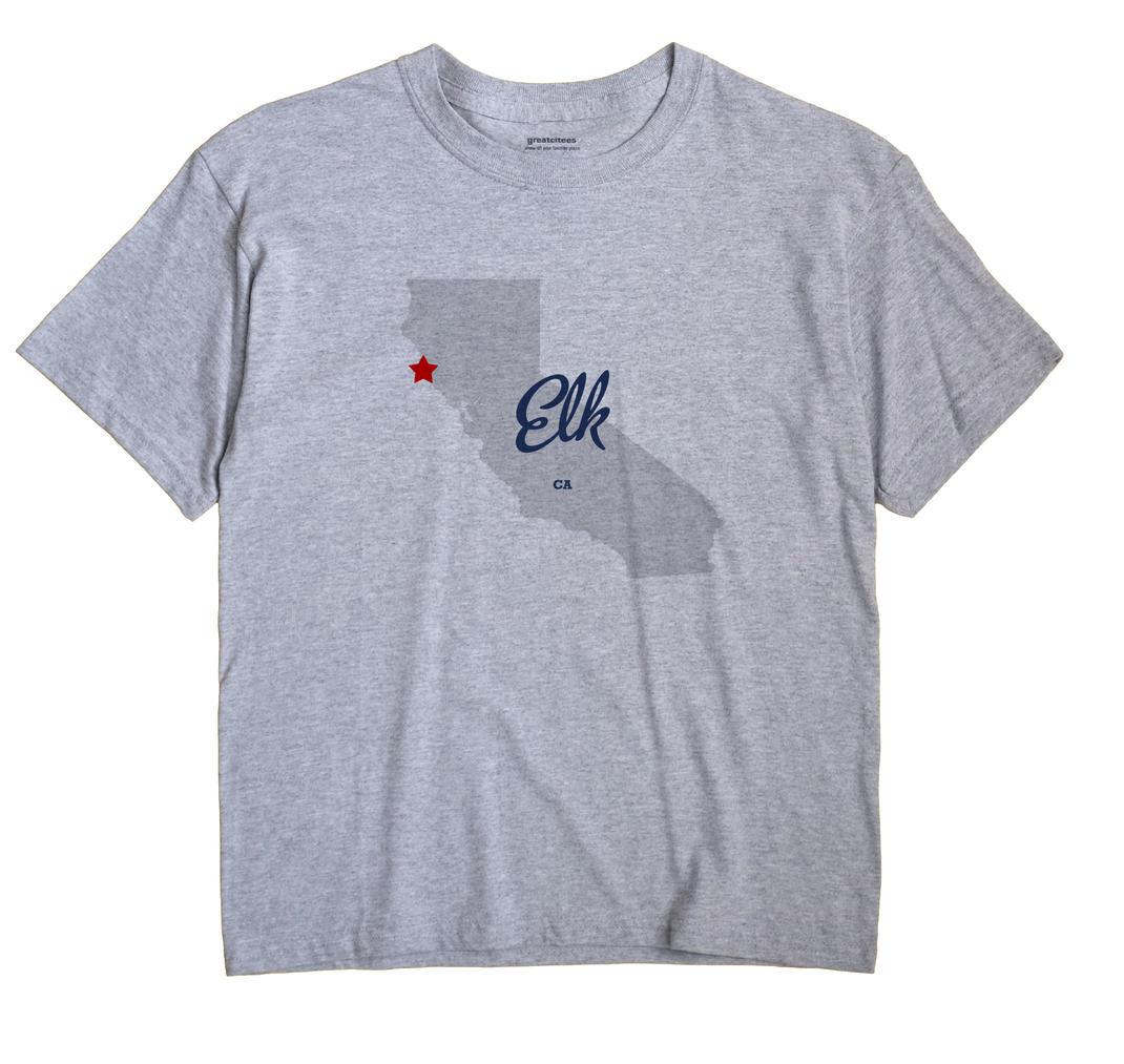 Elk, Mendocino County, California CA Souvenir Shirt