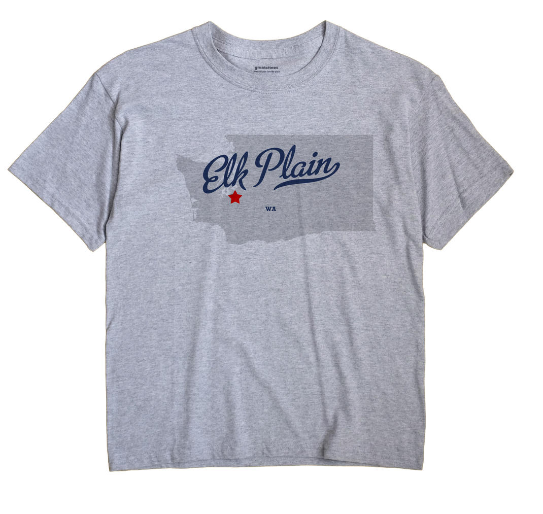 Elk Plain, Washington WA Souvenir Shirt