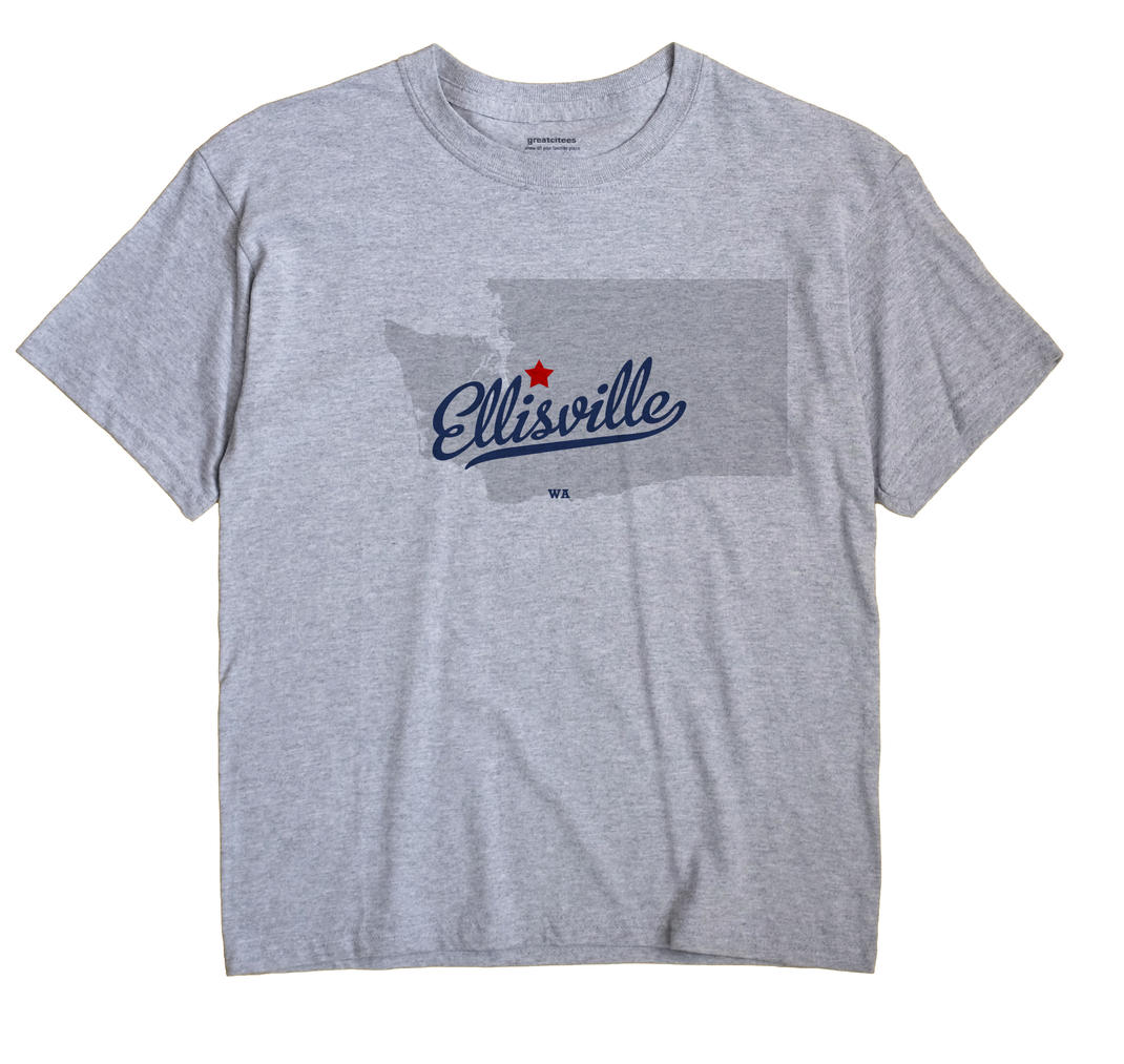 Ellisville, Washington WA Souvenir Shirt