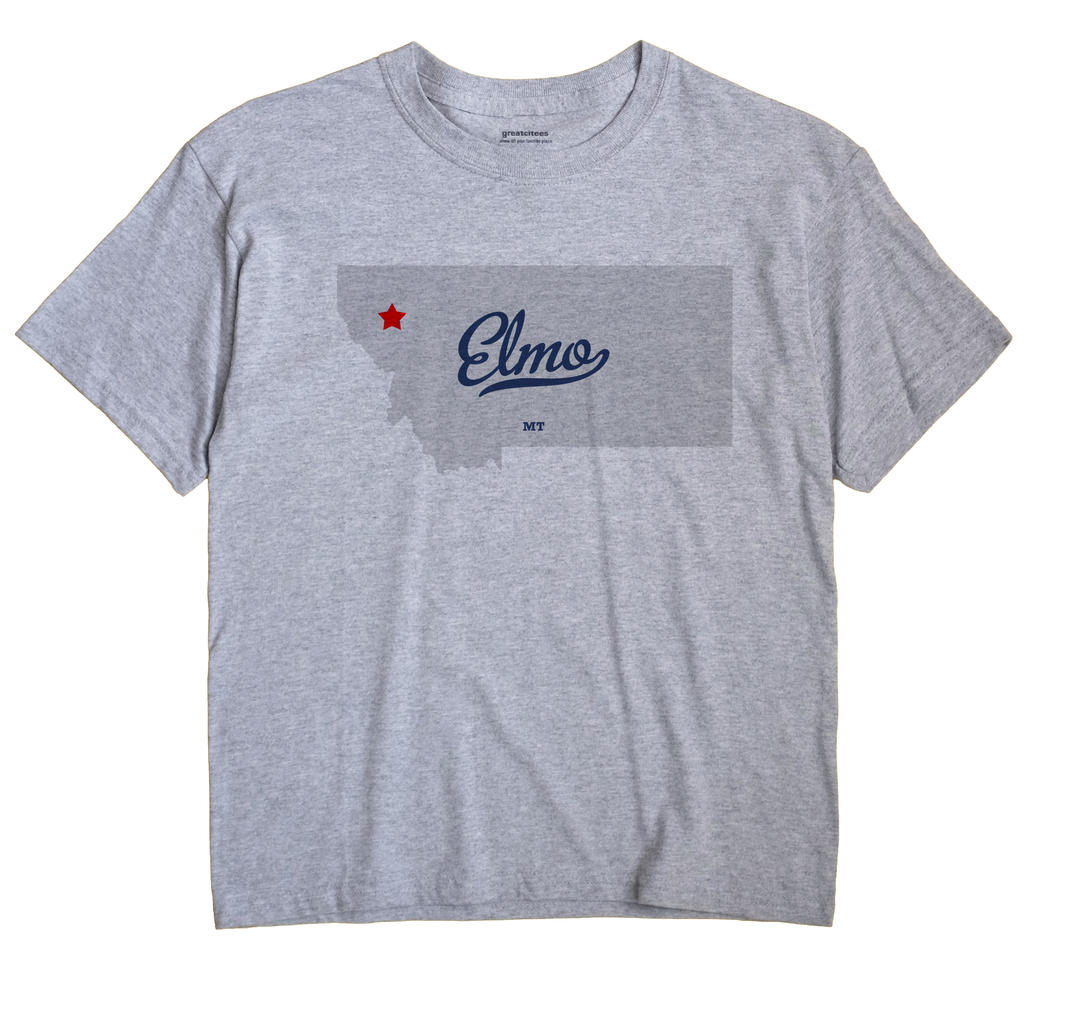 Elmo, Montana MT Souvenir Shirt